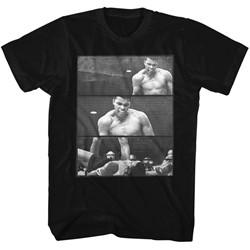 Muhammad Ali - Mens Ali Over Liston 3 Box T-Shirt
