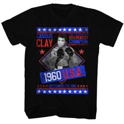 Muhammad Ali - Mens Gold Medalist T-Shirt