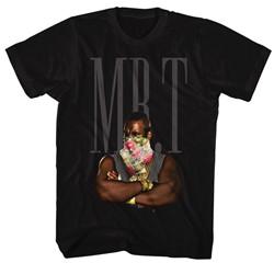 Mr. T - Mens Flower T T-Shirt