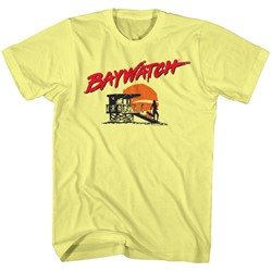 Baywatch - Mens Silhouette T-Shirt