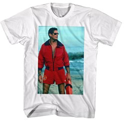Baywatch - Mens On The Beach T-Shirt