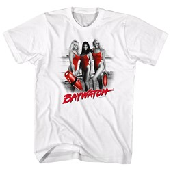 Baywatch - Mens Red Red Red T-Shirt