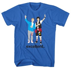 Bill And Ted - Mens Minimal T-Shirt