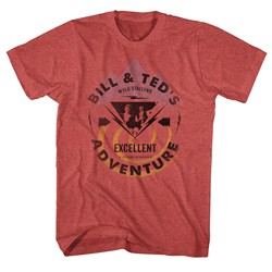 Bill And Ted - Mens Bill & Ted Bolt T-Shirt