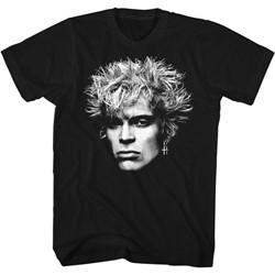 Billy Idol - Mens Bighead T-Shirt
