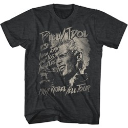 Billy Idol - Mens Blondie Boy T-Shirt