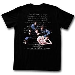 Breakfast Club - Mens Letter T-Shirt