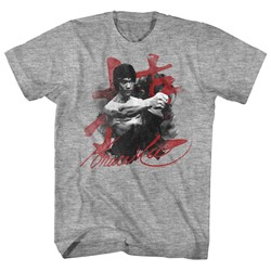 Bruce Lee - Mens Wha-Taaa T-Shirt