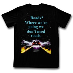 Back To The Future - Mens Noroads T-Shirt