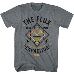 Back To The Future - Mens Flux Streetwear T-Shirt