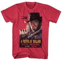 Clint Eastwood - Mens Fistful $$ T-Shirt