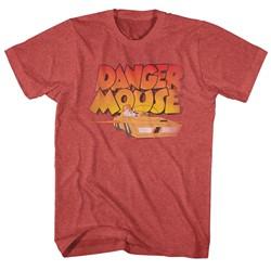Danger Mouse - Mens Zoom T-Shirt