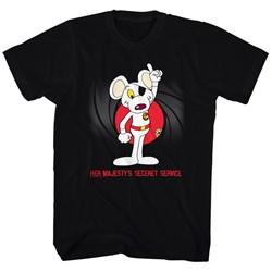 Danger Mouse - Mens Agent Mouse T-Shirt