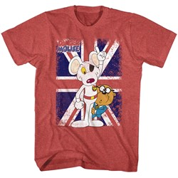 Danger Mouse - Mens Danger'S Way T-Shirt