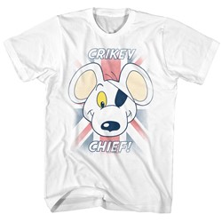 Danger Mouse - Mens Crikey Chief T-Shirt