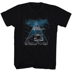 Def Leppard - Mens On Through The Night T-Shirt
