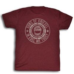 Evel Knievel - Mens Seal T-Shirt
