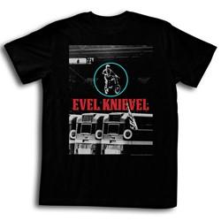Evel Knievel - Mens Redwhiteblue T-Shirt