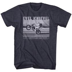 Evel Knievel - Mens Fade Daredevil2 T-Shirt