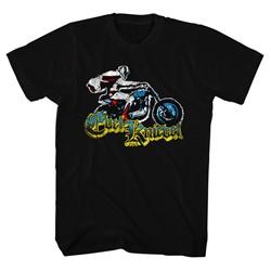 Evel Knievel - Mens Old Print T-Shirt