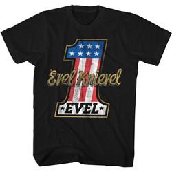 Evel Knievel - Mens Evelone T-Shirt