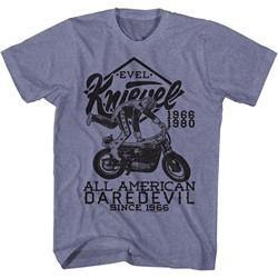 Evel Knievel - Mens Evel Jump Good T-Shirt