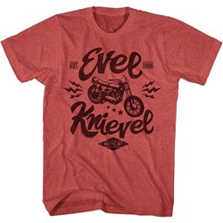 Evel Knievel - Mens One Evel Motorcycle T-Shirt