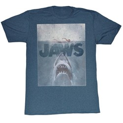 Jaws - Mens Transparent T-Shirt