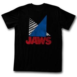 Jaws - Mens Tri T-Shirt