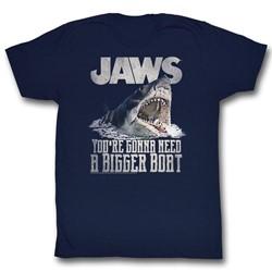 Jaws - Mens Real Big T-Shirt