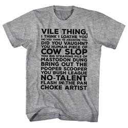 Major League - Mens Vile Thing T-Shirt