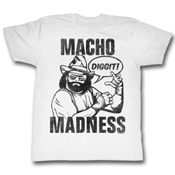 Macho Man - Mens Diggit T-Shirt