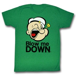Popeye - Mens Blow Me Down T-Shirt