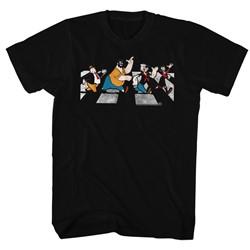 Popeye - Mens Crosswalk T-Shirt