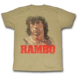 Rambo - Mens Grunge Rambo T-Shirt