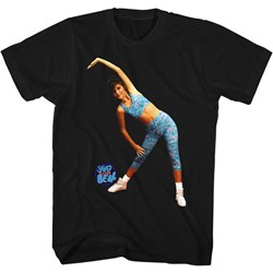 Saved By The Bell - Mens Aerobics T-Shirt