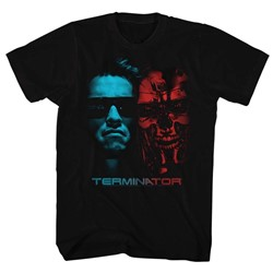 Terminator - Mens Face Off T-Shirt