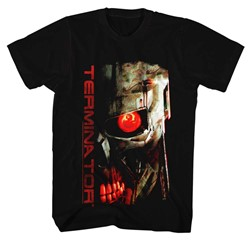 Terminator - Mens Red Eye T-Shirt