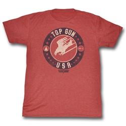 Top Gun - Mens T Bird Usa T-Shirt
