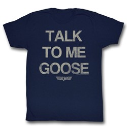 Top Gun - Mens Talk Goose T-Shirt