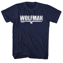 Top Gun - Mens Wolfman T-Shirt
