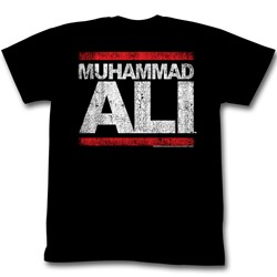 Muhammad Ali - Run Ali Mens T-Shirt In Black