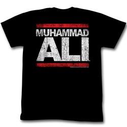 Muhammad Ali - Run Ali Mens T-Shirt In Black