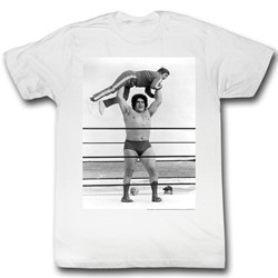 Andre The Giant - Lightweight Mens T-Shirt In White