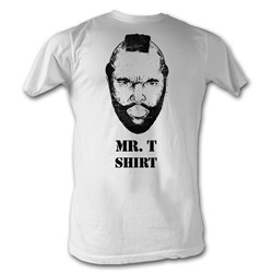 Mr. T - Mr T Shirt Mens T-Shirt In White