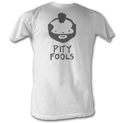 Mr. T - Pity Fools Mens T-Shirt In White