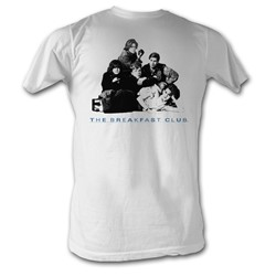 Breakfast Club, The - Group Mens T-Shirt In White