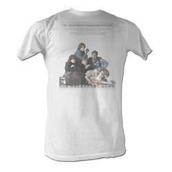 Breakfast Club, The - Poster   Mens T-Shirt In White