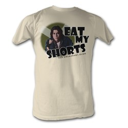 Breakfast Club, The - Eat My Shorts Mens T-Shirt In Dirty White