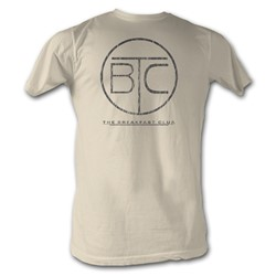 Breakfast Club, The - Circle Logo Mens T-Shirt In Dirty White